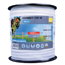 Farmer T40 Electric Tape 200 Metres
